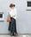natural couture(ナチュラルクチュール)の「BIGチェックフレアスカート(スカート)」 詳細画像