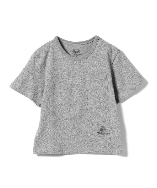 SMOOTHY × FRUIT OF THE LOOM / ポケット ビッグ Tシャツ 19 (90~140cm)