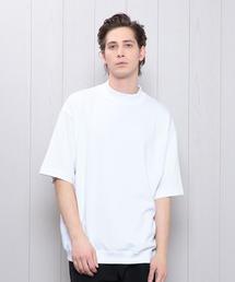 <H>MOCK T-SHIRT/Tシャツ ◆