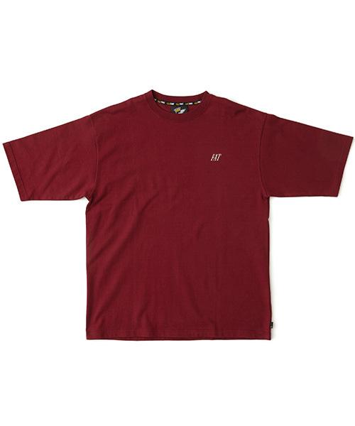 FAT(エフエイティー)の「NAMETAG(Tシャツ/カットソー)」|ワイン