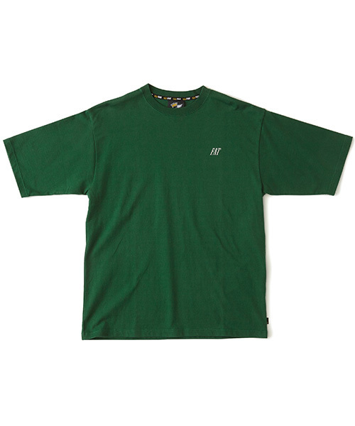 FAT(エフエイティー)の「NAMETAG(Tシャツ/カットソー)」 グリーン