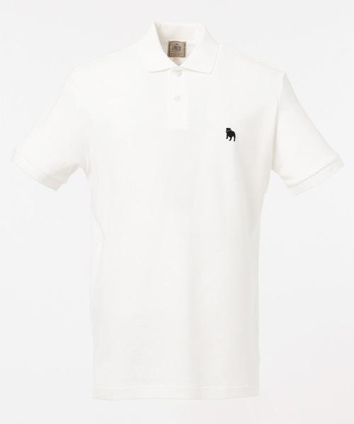 【大人気】アメリカンコットン鹿の子 ブルドックポロシャツ