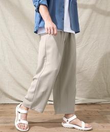テックリネン ワイドシルエットダーツタックバルーンパンツ EMMA CLOTHES 2021S/Sグレー系その他