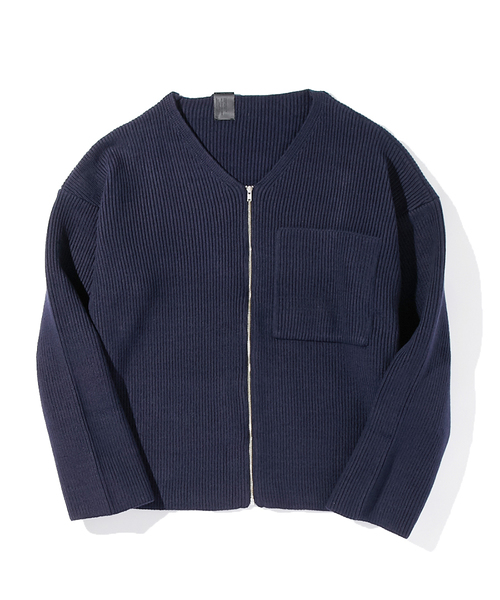 N.HOOLYWOOD ZIP-UP KNIT