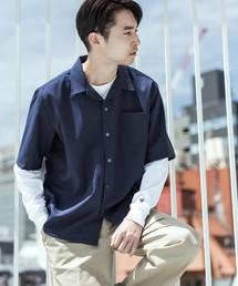 ROOPTOKYO(ループトウキョウ)の国産 オープンカラー 半袖開襟シャツ(シャツ/ブラウス)