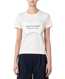 "beautiful people(ビューティフルピープル)のbeautiful people ""BIG NAME""Tシャツ(Tシャツ/カットソー)"