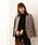 PROPORTION BODY DRESSING(プロポーションボディドレッシング)の「千鳥チェックダブルジャケット(テーラードジャケット)」|ブラック