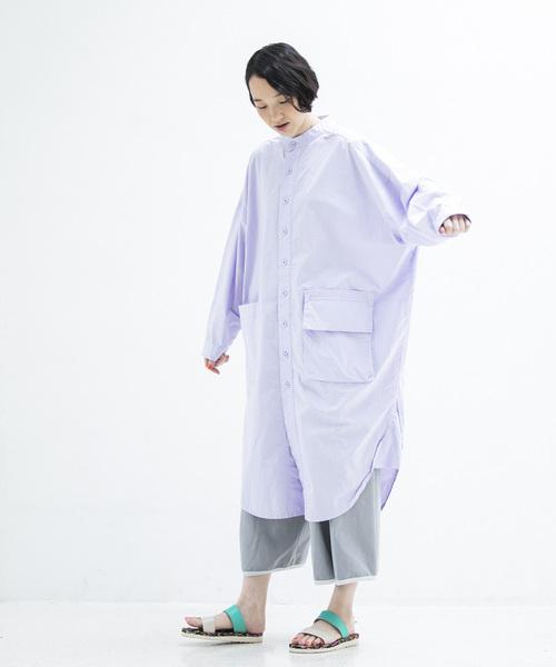 【在庫処分大特価!!】 2020春夏 ウォッシュトロングシャツ(シャツ/ブラウス)|sneeuw(スニュウ)のファッション通販, 革製品と毛皮のエアーマミー:da43e2ec --- dpu.kalbarprov.go.id