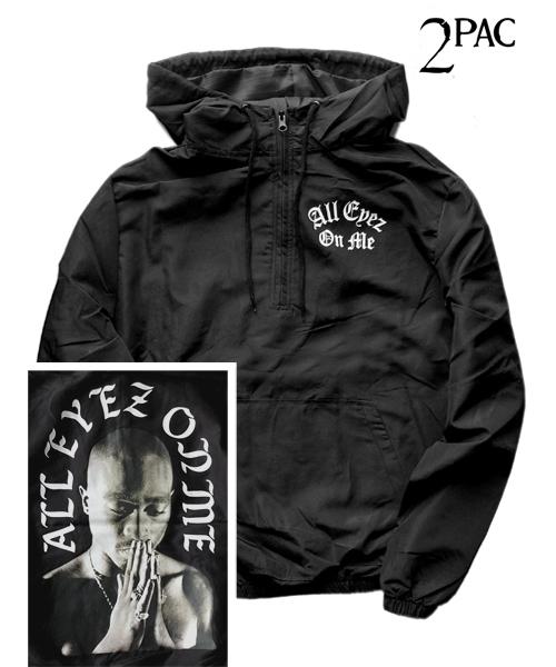 Tupac Mens Hoodie All Eyes On Me Sweater Cross