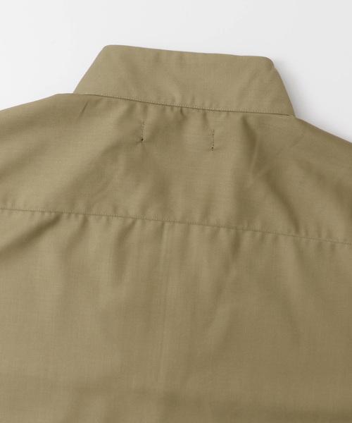 ハーフジッププルオーバー(5分袖)
