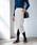 TIENS ecoute(ティアンエクート)の「圧縮ウールタイトスカート(スカート)」|オフホワイト