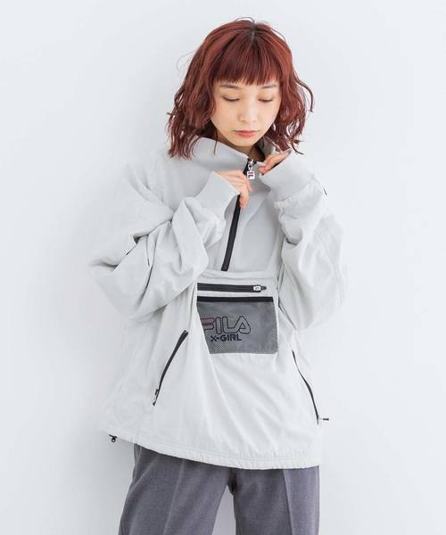 【ご予約品】 【セール】X-girl x FILA x FILA ANORAK(ブルゾン)|X-girl(エックスガール)のファッション通販, NIWA SPORTS:10c99c99 --- iodseguros.com.br