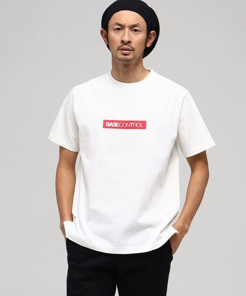 【WEB限定】ベースコントロールT BOXロゴ 半袖Tシャツ