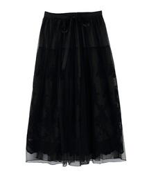 レーシーチュールスカート(スカート)