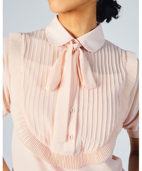 Sov.(ソブ)の「ダル糸+ポリシオン(Tシャツ/カットソー)」|詳細画像