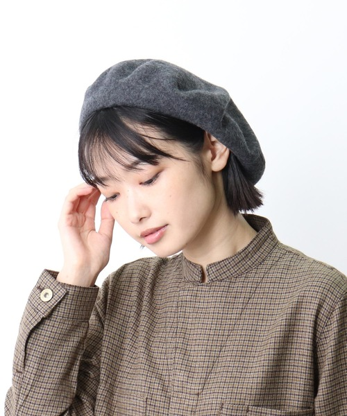 ▽ ウールベレー帽 / WOOL BERET