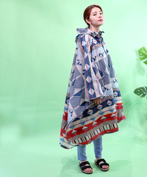 PENDLETON(ペンドルトン)の【PENDLETON / ペンドルトン】 ネイティブ柄レインコートポンチョ 雨の日(レインコート/ポンチョ)