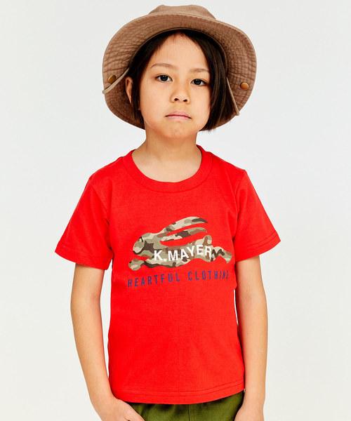ロゴプリントT【CAMO】