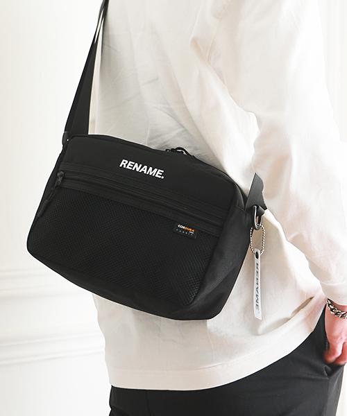 ★WEARISTA多数着用★Rename CORDURAナイロンショルダーバッグ