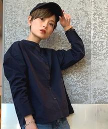 koe(コエ)のバンドカラーシャツ(シャツ/ブラウス)