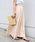 Khaju(カージュ)の「Khaju:リラックスマキシスカート19SS◆(スカート)」|ベージュ