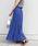 Khaju(カージュ)の「Khaju:リラックスマキシスカート19SS◆(スカート)」|ブルー