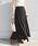Khaju(カージュ)の「Khaju:リラックスマキシスカート19SS◆(スカート)」|ブラック