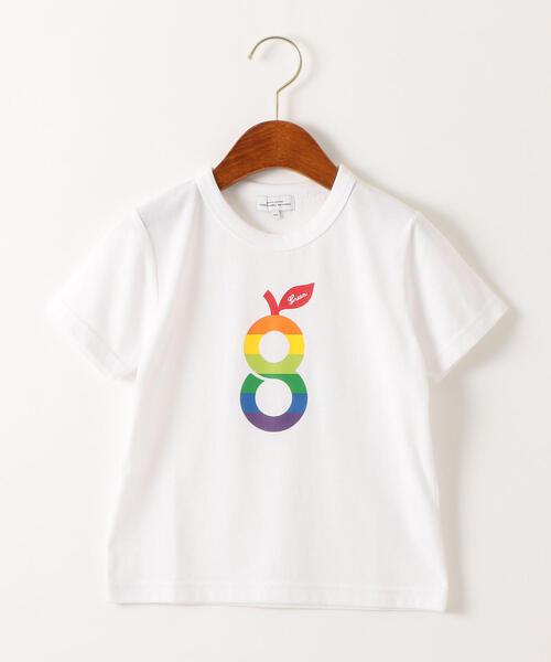 〔吸水速乾〕gロゴプリント ショートスリーブTシャツ