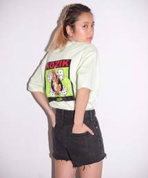 X-girl(エックスガール)のX-girl x KOZIK BUNNY S/S MENS TEE(Tシャツ/カットソー)