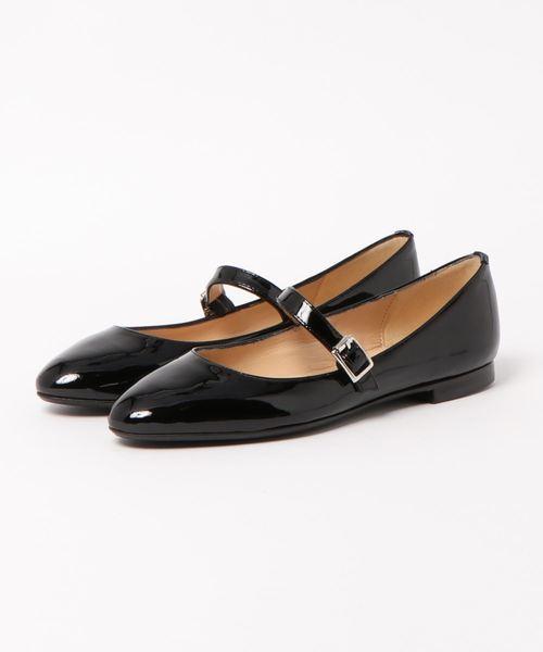 2019年激安 FABIO RUSCONI(ファビオ FABIO ルスコーニ)/エナメル RUSCONI(ファビオ ワンストラップフラットパンプス(パンプス)|FABIO RUSCONI(ファビオルスコーニ)のファッション通販, 2019公式店舗:eba2251a --- blog.buypower.ng