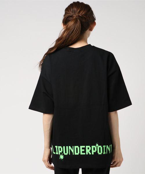 LIP UNDER POINT/リップアンダーポイント/フランケンTシャツ