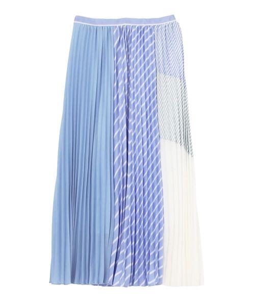 【特別訳あり特価】 【セール】STRIPE VARIATION PLEATS VARIATION SK(スカート)|ELENDEEK(エレンディーク)のファッション通販, BEES HIGH:f797fd57 --- kraltakip.com