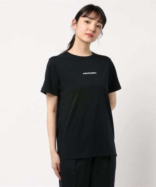 (BANKS JOURNAL)ロゴプリントTシャツ