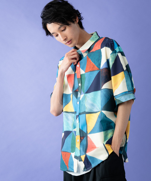 c5f24a5b57acb Herden(ハーデン)のHerden ペインティングカラーシャツ(シャツ/ブラウス)