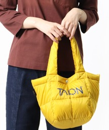 【 TAION / タイオン 】ダウンランチトートバッグ DON TAIONTOTE2Sイエロー