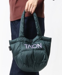 【 TAION / タイオン 】ダウンランチトートバッグ DON TAIONTOTE2Sグリーン