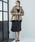 Emma Taylor(エマテイラー)の「【STYLEBAR】ミリタリーフレアーフードコート(ブルゾン)」|詳細画像