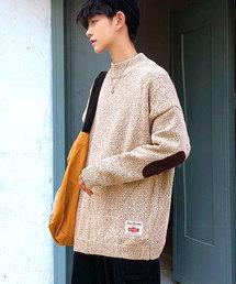neos(ネオス)の【neos -addictive design-】オーバーサイズ モックネック ニット セーター(ニット/セーター)