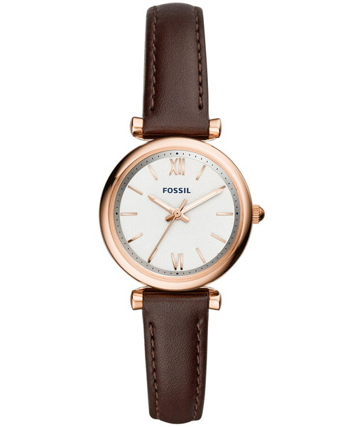 FOSSIL(フォッシル)の「CARLIE ES4472(腕時計)」 ブラウン系その他
