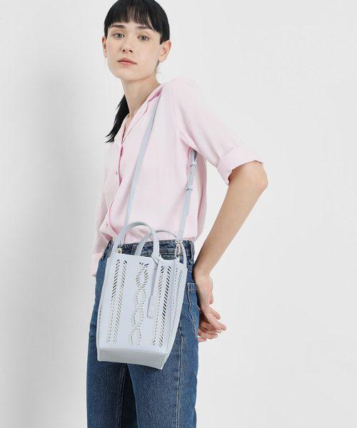 セミシースルー バケツバッグ / Semi See-through Bucket Bag