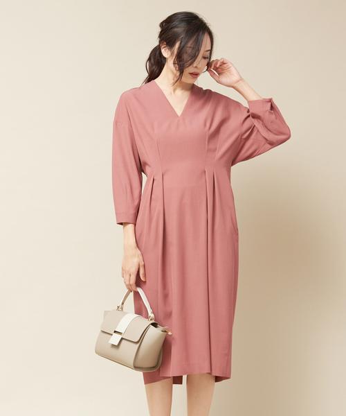 ファッションの 【セール】《CLASSY掲載》ウエストタックフォルムワンピース(ワンピース)|qualite(カリテ)のファッション通販, ハイカラン屋:008b0fef --- 888tattoo.eu.org