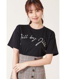 JILL by JILLSTUART(ジルバイジルスチュアート)のオータムビッグロゴT(Tシャツ/カットソー)