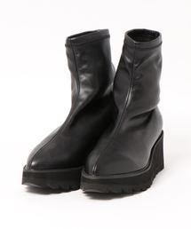 RODEO CROWNS WIDE BOWL(ロデオクラウンズワイドボウル)のストレッチ ショート ブーツ(ブーツ)
