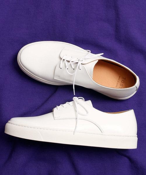 And A(アンドエー)の「TOSS /トス Bath バース Sneaker スニーカー(スニーカー)」|ホワイト