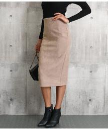 ANAP(アナップ)のバックスリットスエードタッチスカート(スカート)