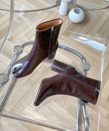 【chuclla】TABI short boots  chw1009ダークブラウン