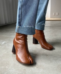 【chuclla】TABI short boots  chw1009ブラウン