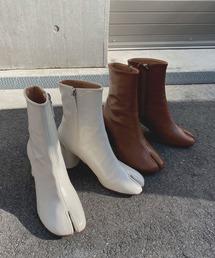 【chuclla】TABI short boots  chw1009オフホワイト