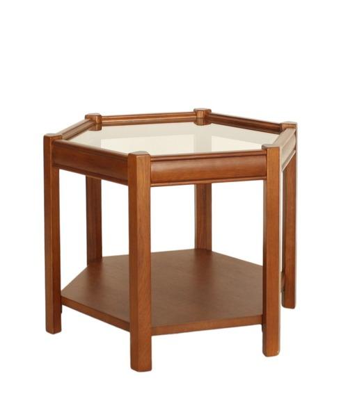 BROOKS HEXAGON TABLE_glass