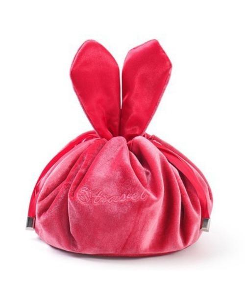 ウサギのミミ 化粧ポーチ 化粧品収納バッグ